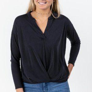 Francescas Ramsey v-neck blouse